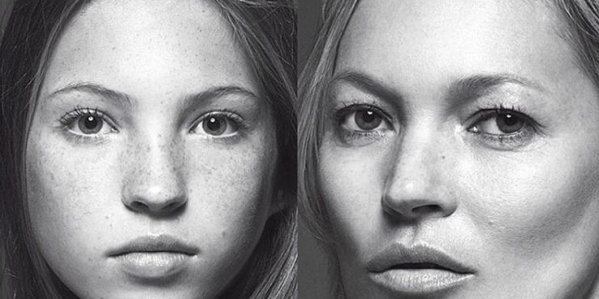 Lila Grace y Kate Moss para Vogue Italia