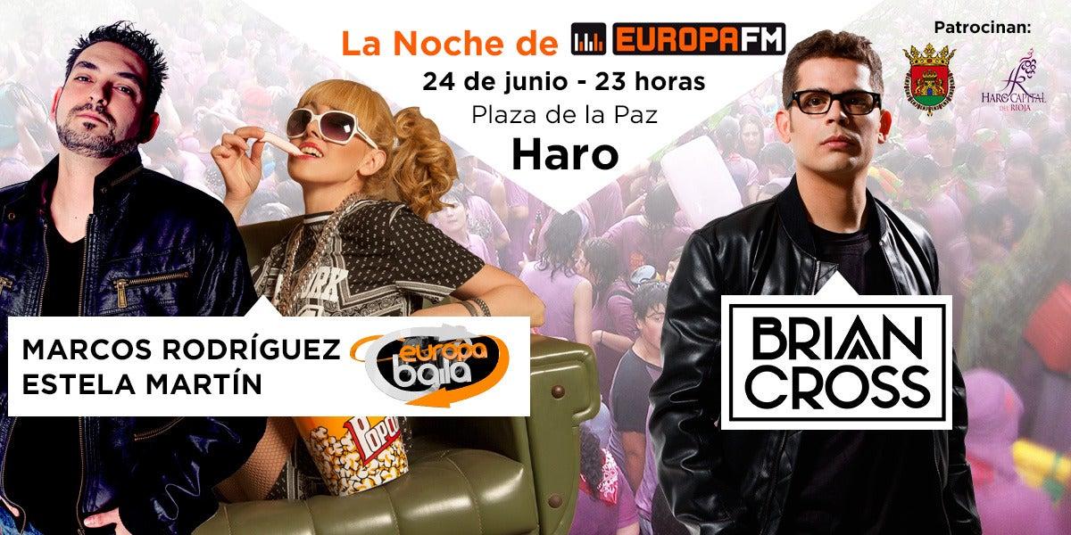 La Noche de Europa FM en las fiestas de Haro 2016