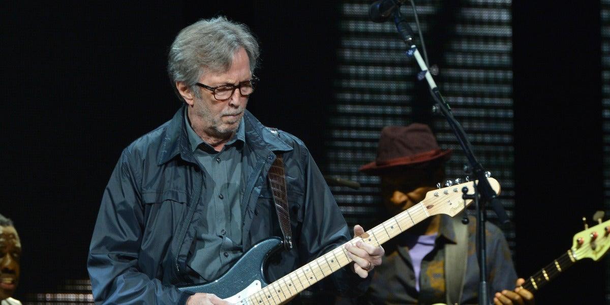 Eric Clapton en el Crossroads Guitar Festival