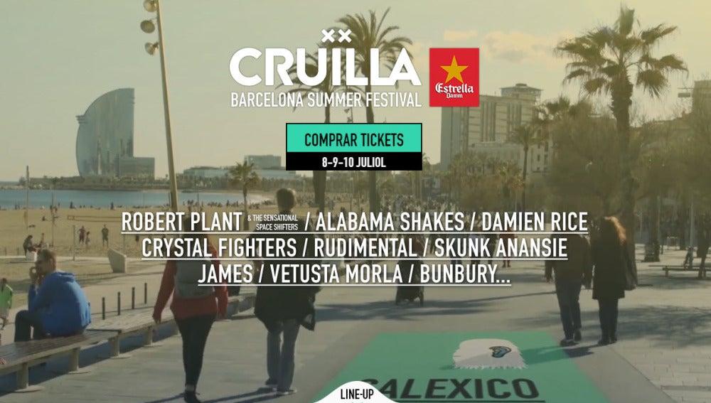 Festival Cruïlla Barcelona 2016