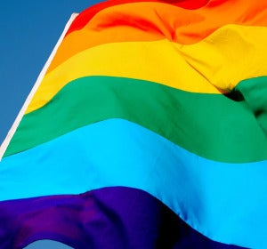 Bandera del orgullo LGTBI