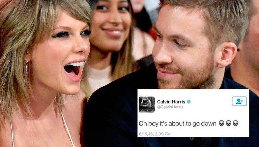 El tuit de Calvin Harris sobre Taylor