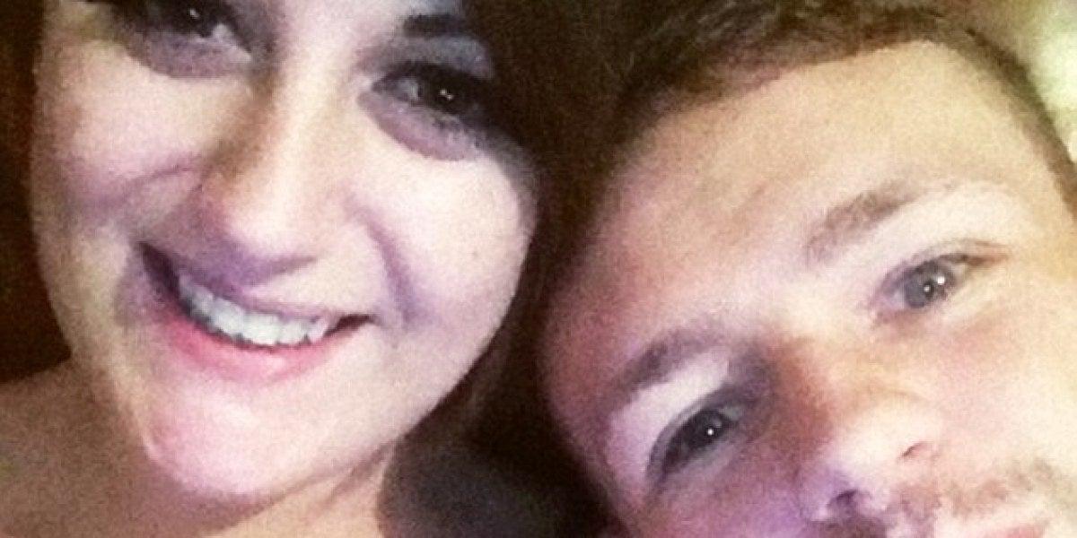 Gemma Williams y Michael Dene Ray antes de la trágica muerte