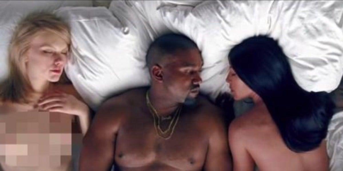 Taylor Swift, muy cabreada al verse en el nuevo vídeo de Kanye West