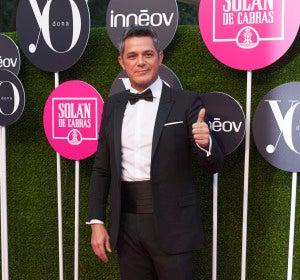 Alejandro Sanz en los Premios Yo Dona