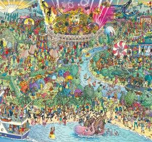 'Dónde está Wally' en versión musical