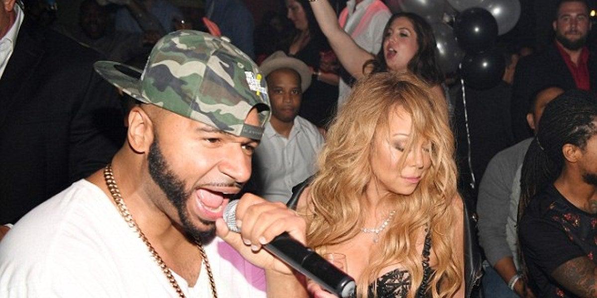 Mariah Carey borracha en Las Vegas en su debut como DJ