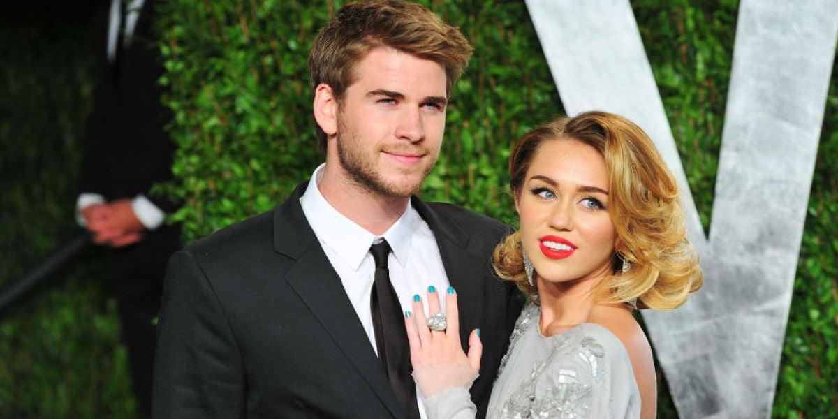 Miley Cyrus y Liam Hemswoth