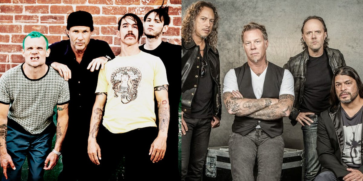 Condunden a Red Hot Chili Peppers con Metallica