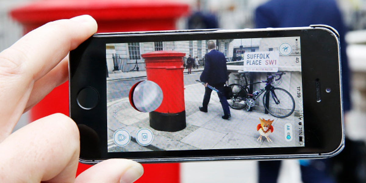 Imagen de la app Pokémon Go