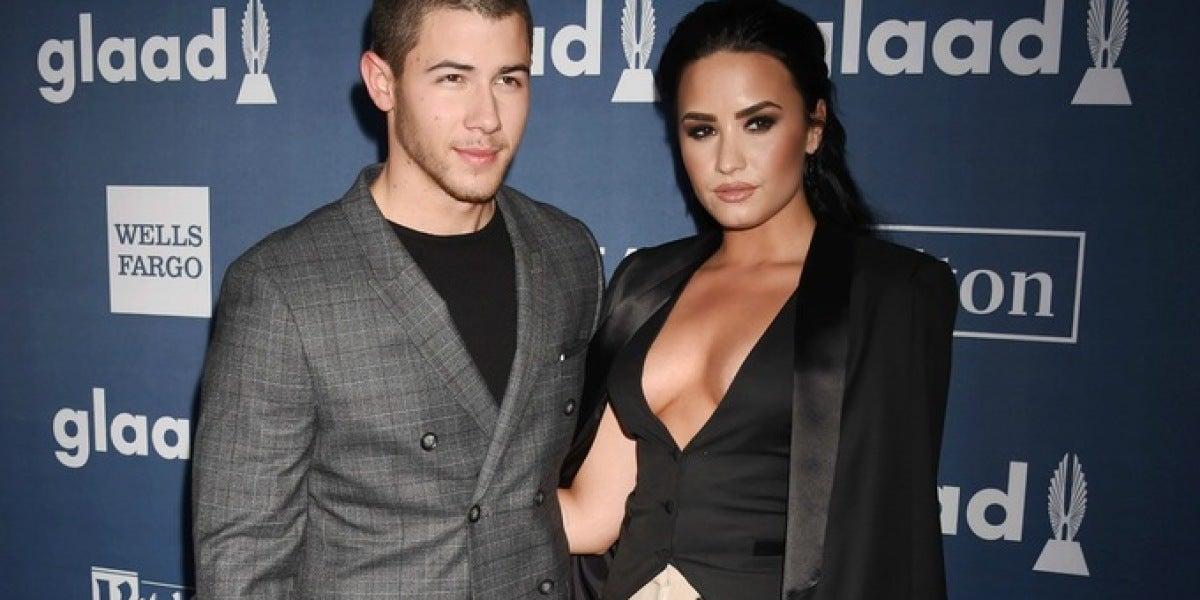 Nick Jonas y Demi Lovato