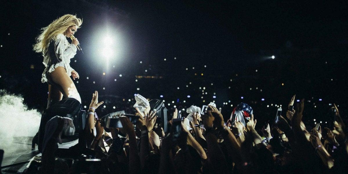 Beyoncé hace temblar el Estadio Olímpico de Barcelona
