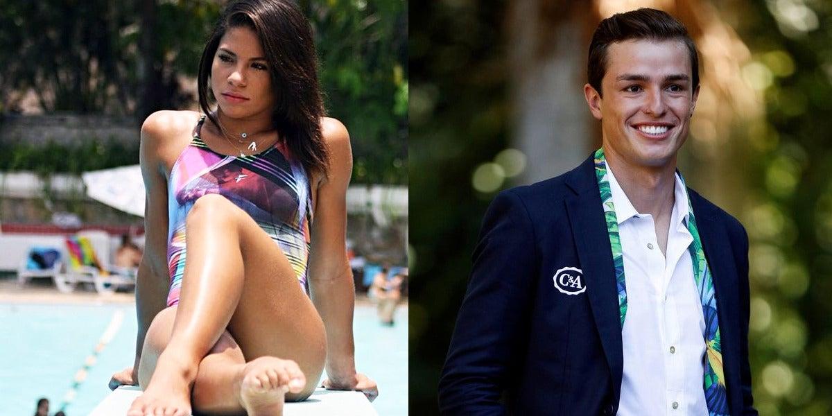 Ingrid Oliveira y Pedro Gonçalves