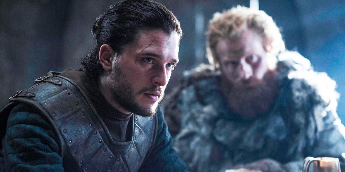 Jon Snow en una imagen de la serie