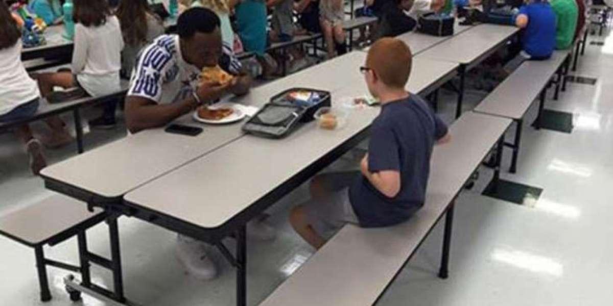 Travis Rudolph y el niño autista