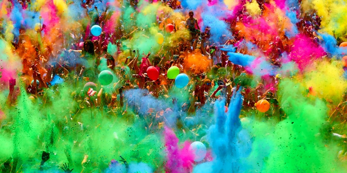 The Color Run by Skittles