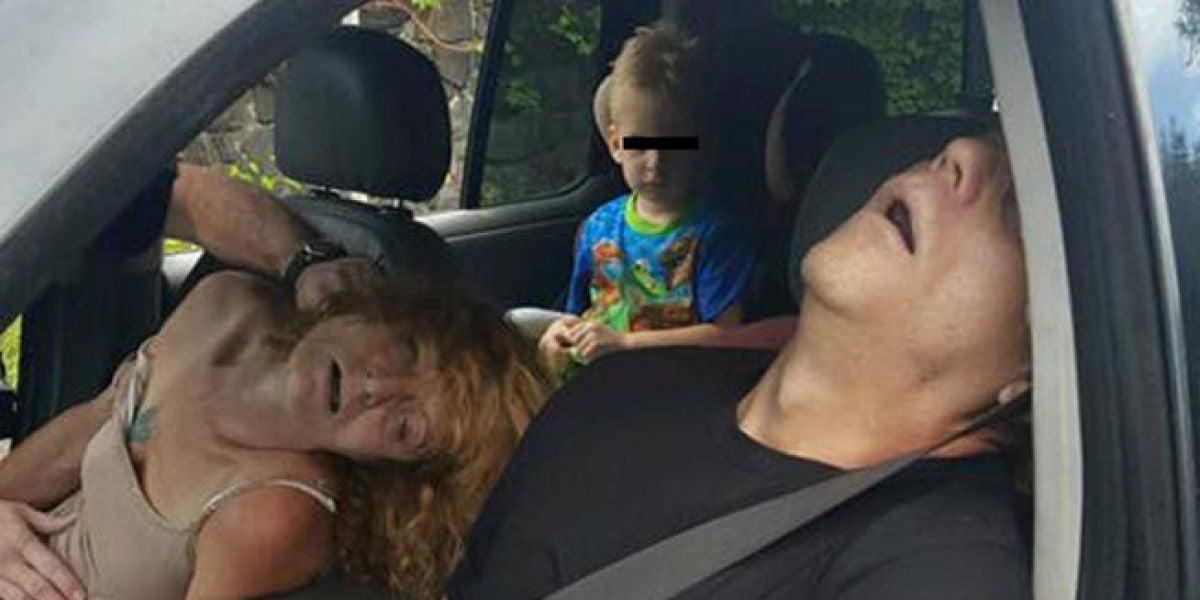 Un niño de cuatro años testigo de la sobredosis de su madre.
