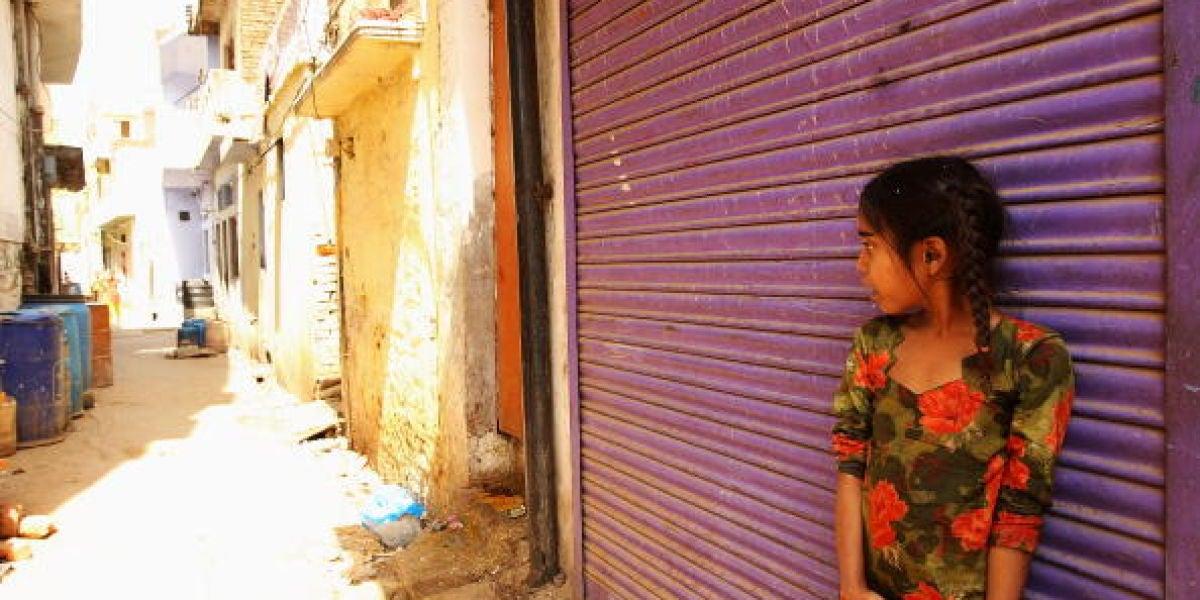 Una niña de la India