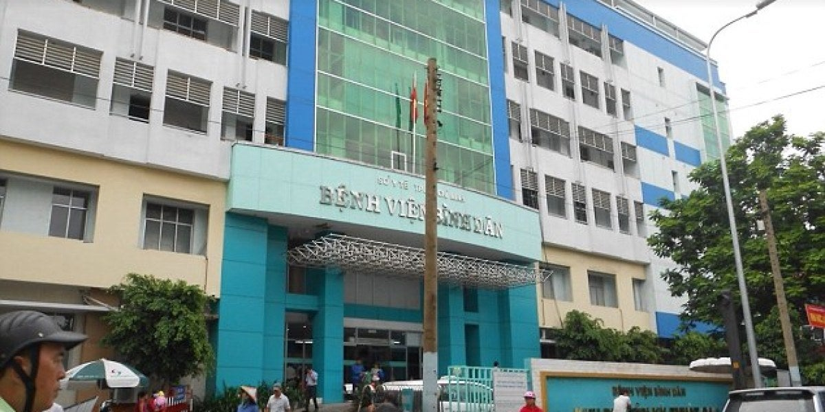 Hospital Ho Chi Minh, en Vietnam