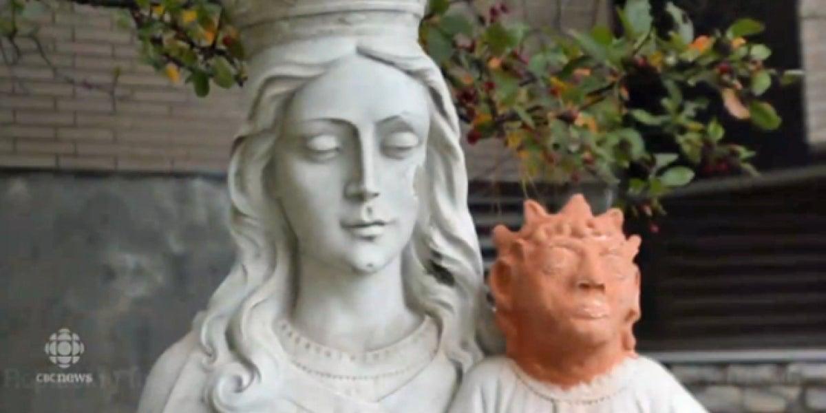 El 'Ecce Hommo' de Ontairo, otra peculiar restauración de una obra de arte