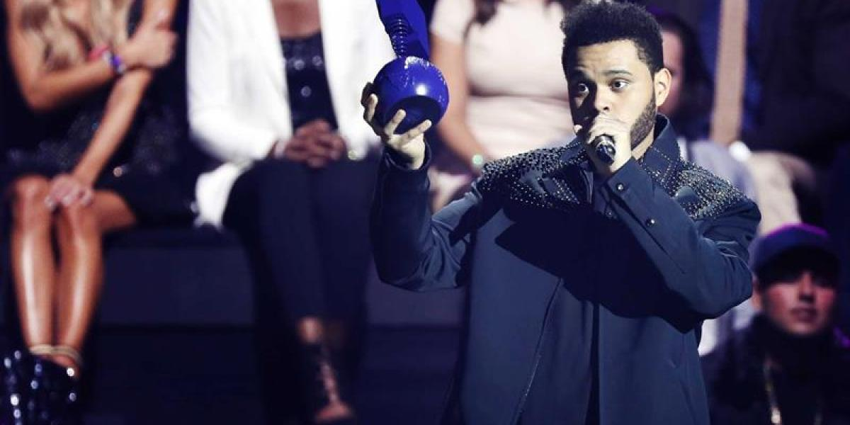 The Weeknd en los MTV Europe Music Awards (EMAs)