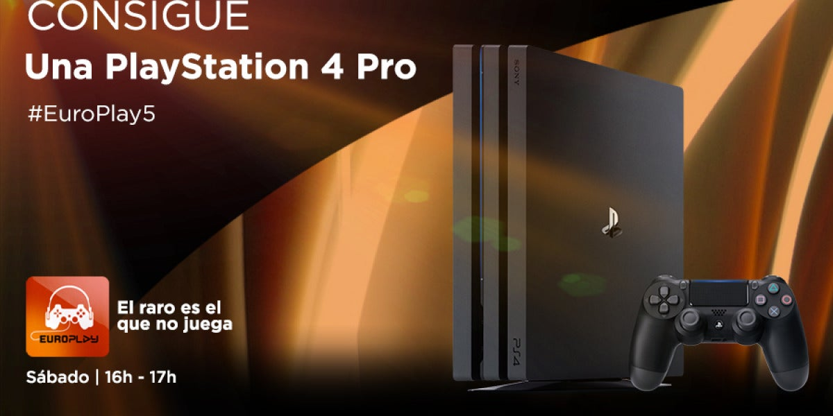 Consigue una PlayStation 4 Pro en EuroPlay