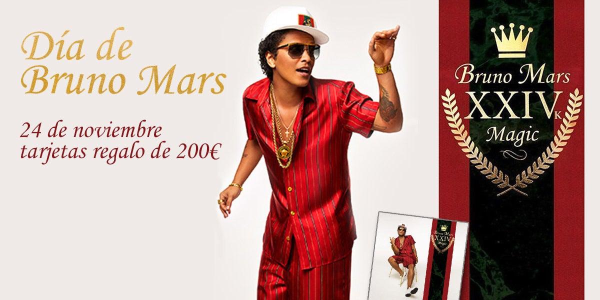 Día Bruno Mars en Europa FM