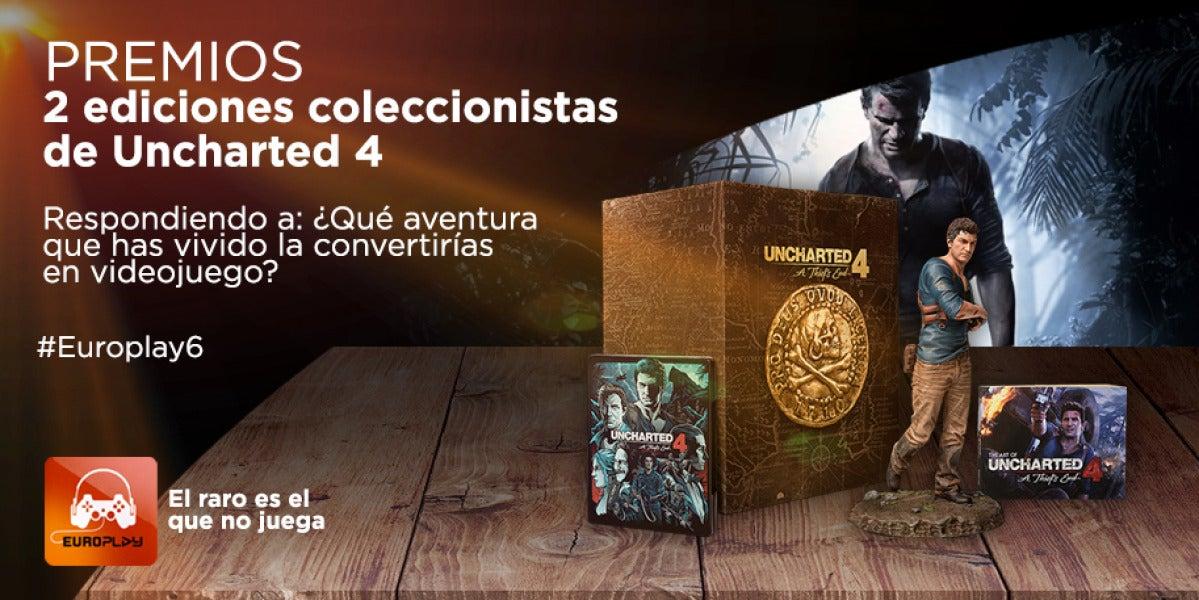 Gana la edición coleccionista de Uncharted 4