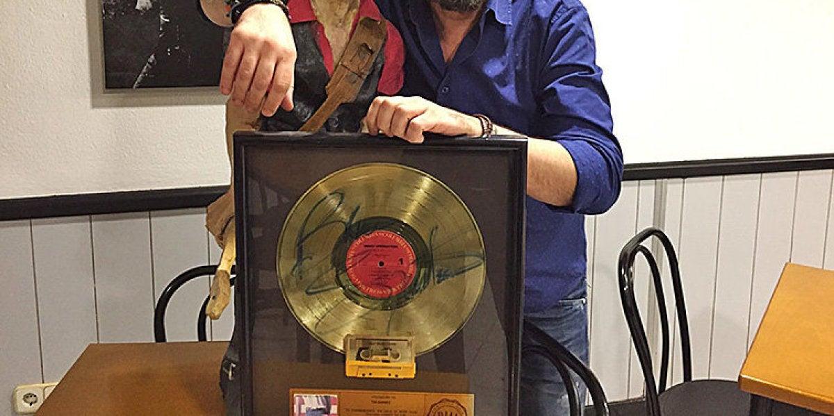 Josep Maria Pons, un gran fan de Bruce Springsteen