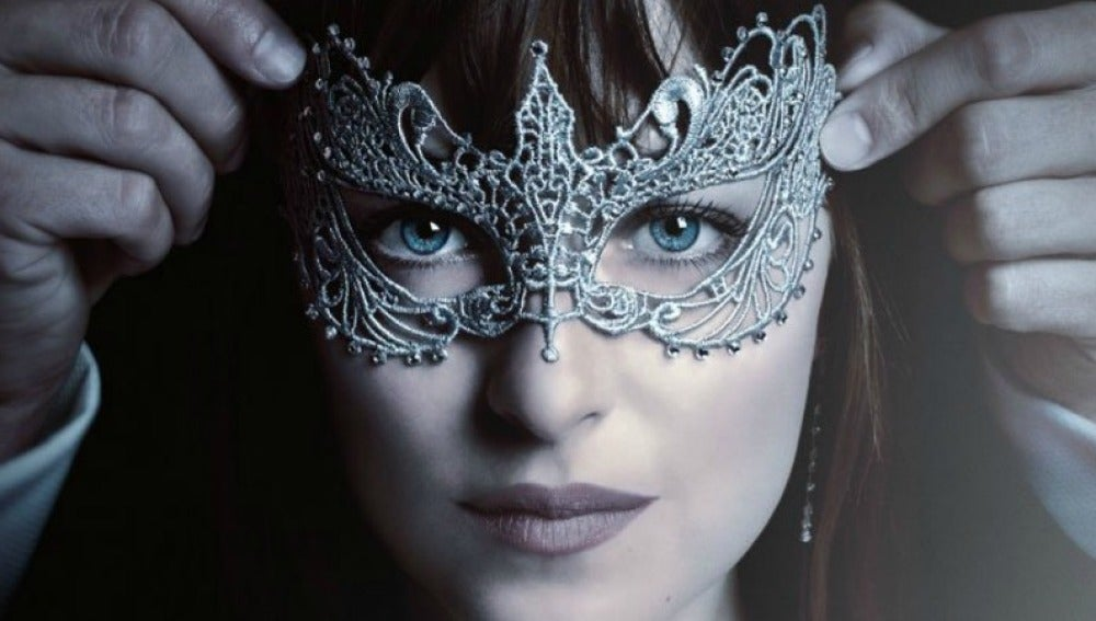 Dakota Johnson en 'Cincuenta sombras más oscuras'