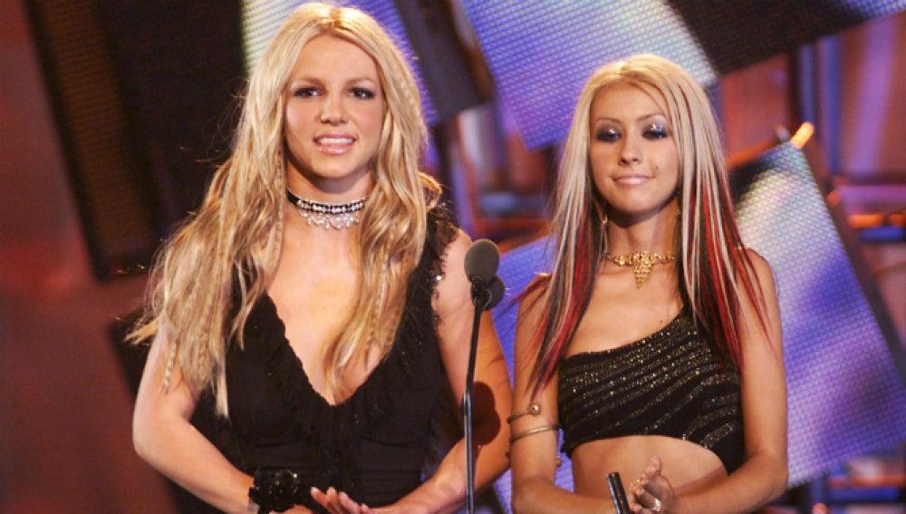 Britney Spears y Christina Aguilera