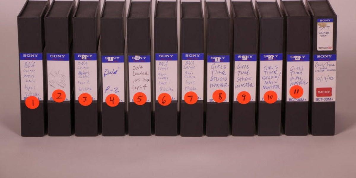 La colección de VHS de Beyoncé con 10 años