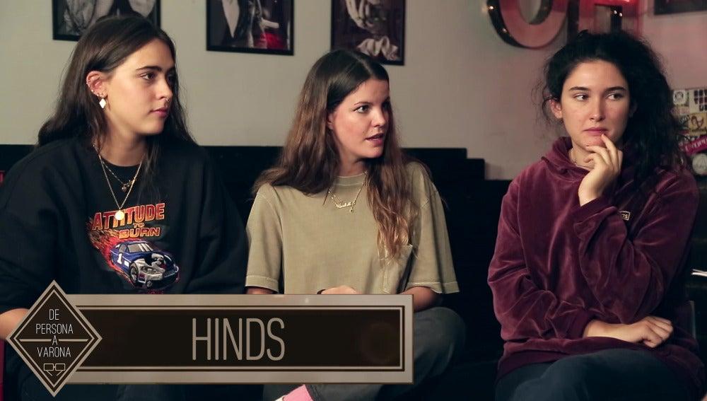 Hinds: 'En España es el único lugar en el que se nos falta al respeto libremente'