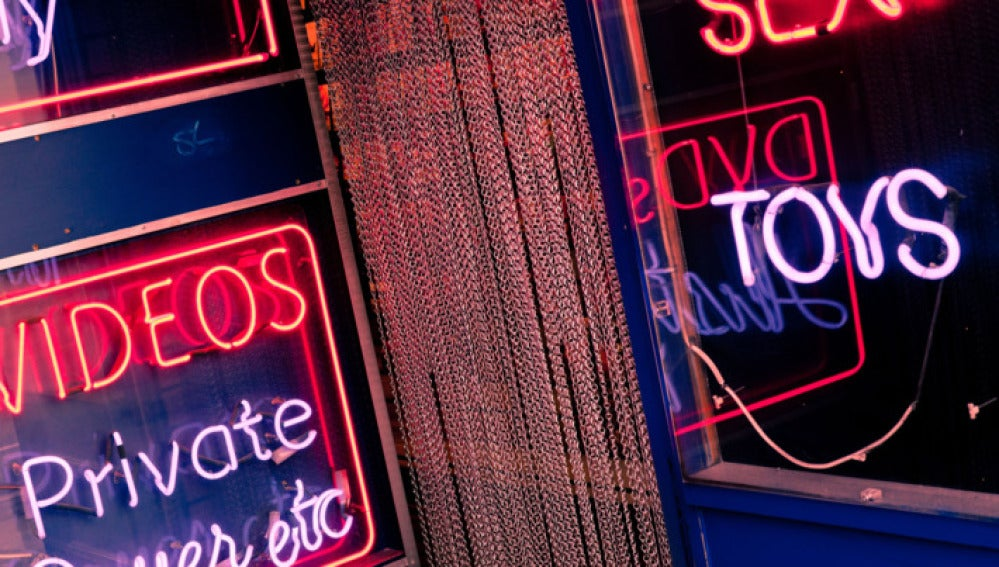 Imagen de un 'sex shop'