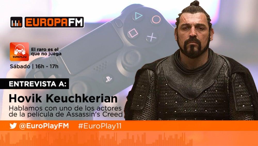 Entrevistamos a Hovik Keuchkerian en EuroPlay