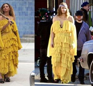 James Franco vestido como Beyoncé en el vídeo de 'Hold Up'