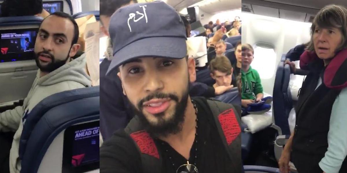 Adam Saleh, expulsado de un avión de Delta