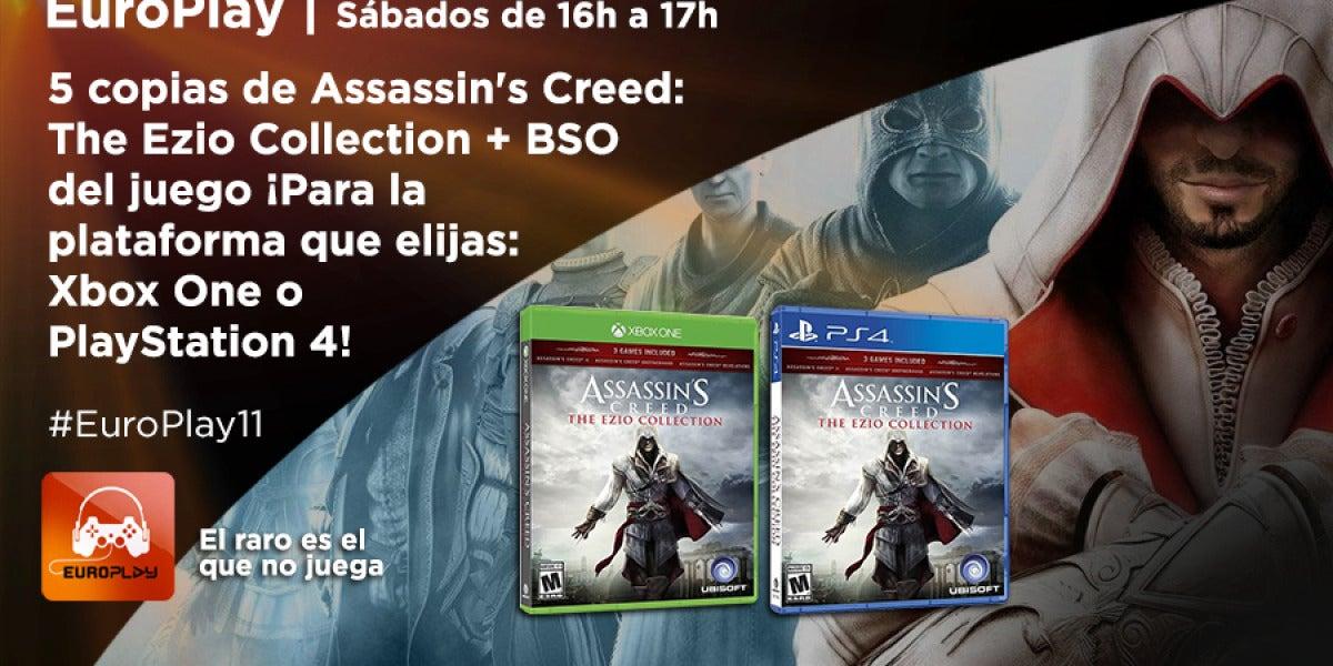 Concurso #EuroPlay11. Consigue el videojuego Assassin's Creed