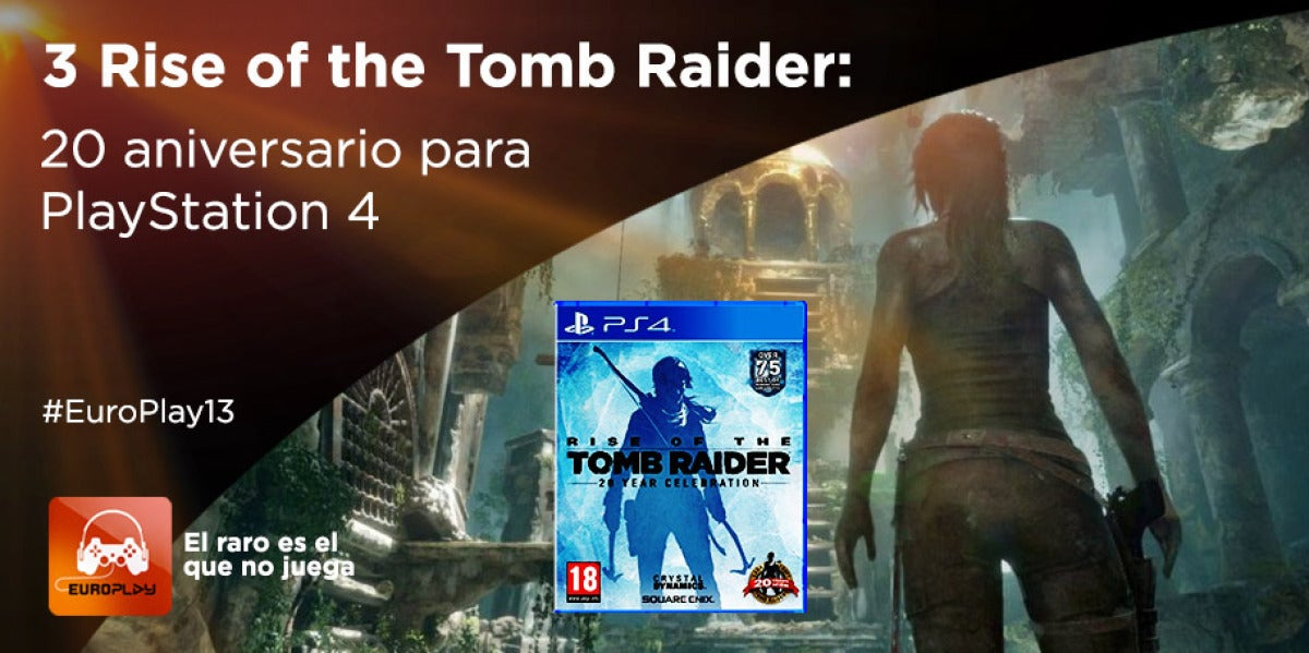 Consigue Rise of the Tomb Raider #EuroPlay13