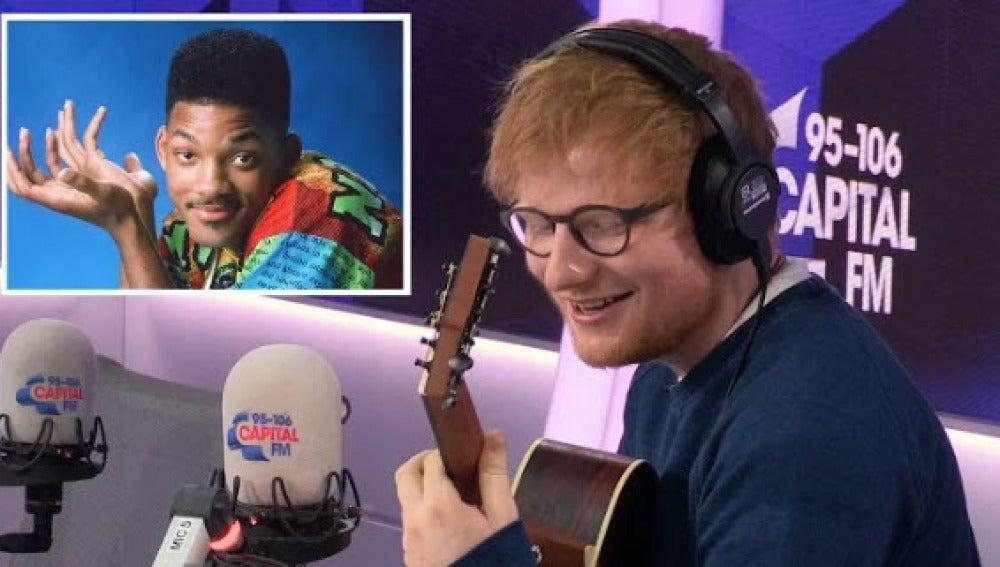 Ed Sheeran versiona El Príncipe de Bel Air