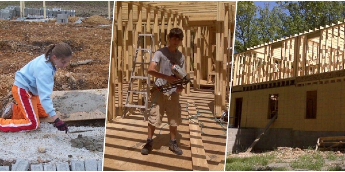 Proceso de la construcción de la casa