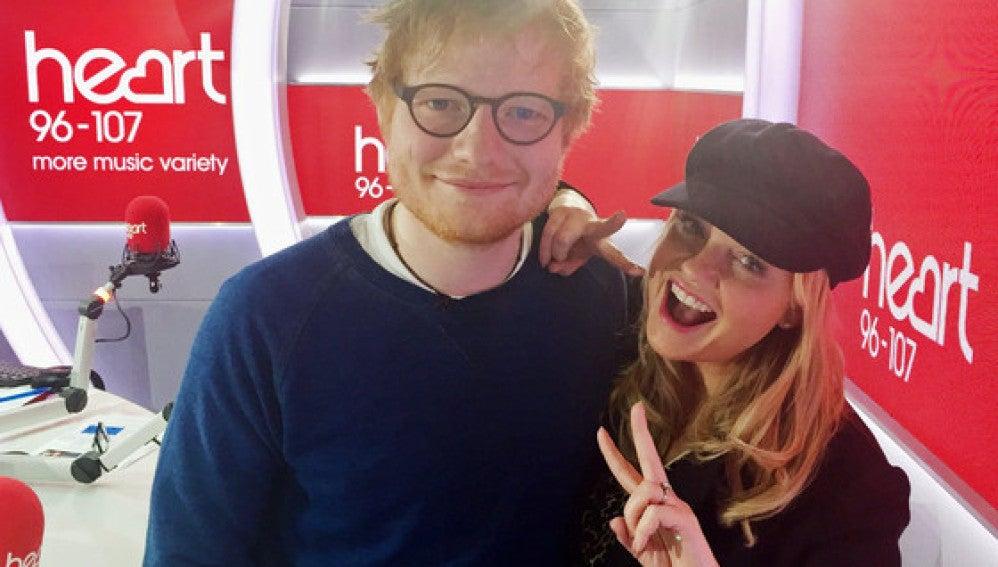 Ed Sheeran y Emma Bunton
