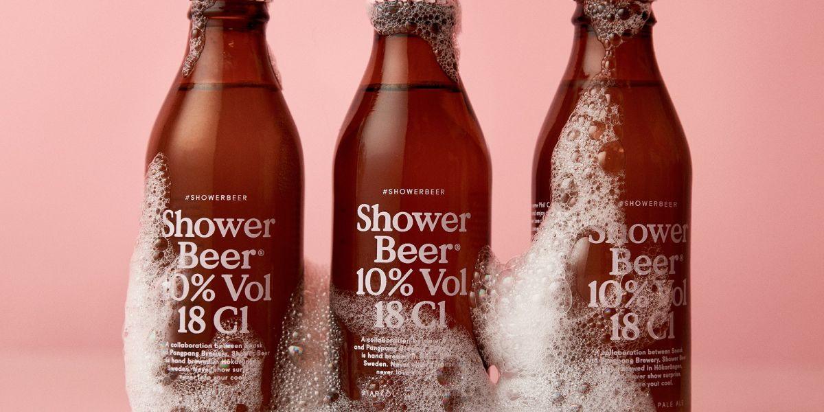 Shower Beer, una cerveza para tomar en la ducha