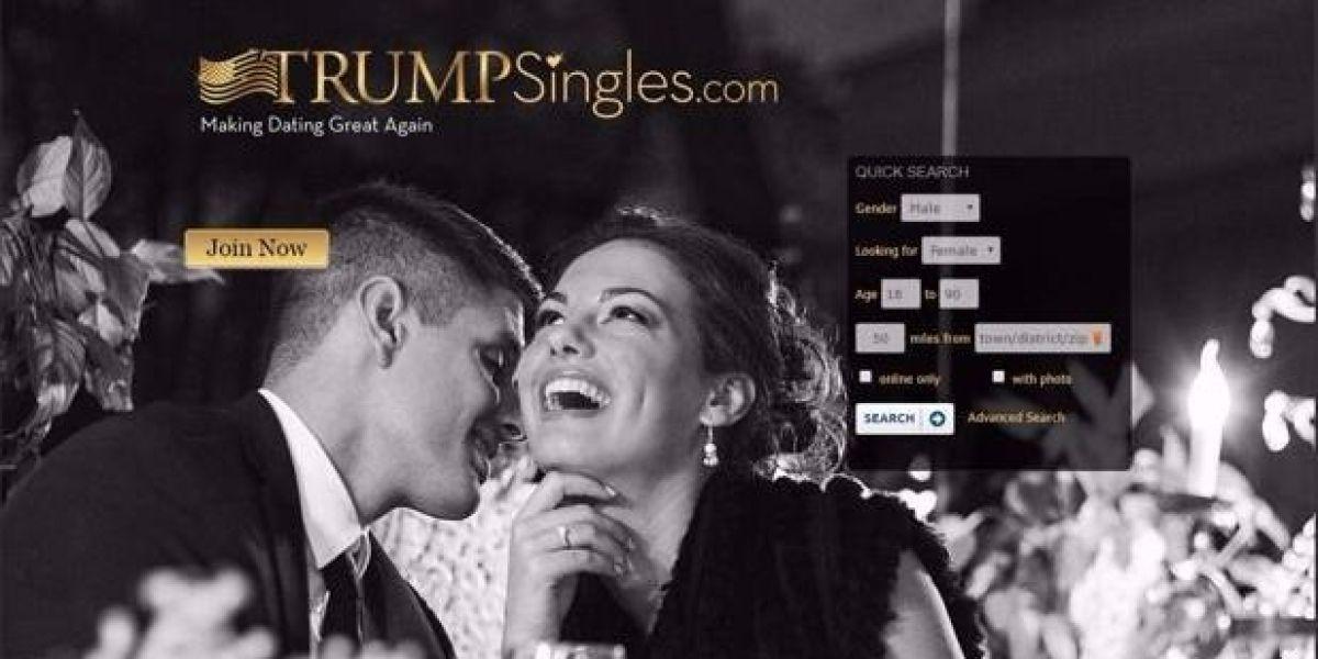 Trump Singles, el Tinder exclusivo para seguidores de Trump