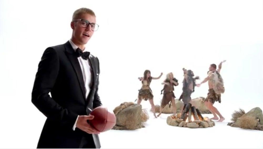Justin Bieber para T-Mobile