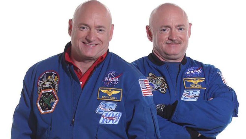Scott Kelly y su hermano Mark