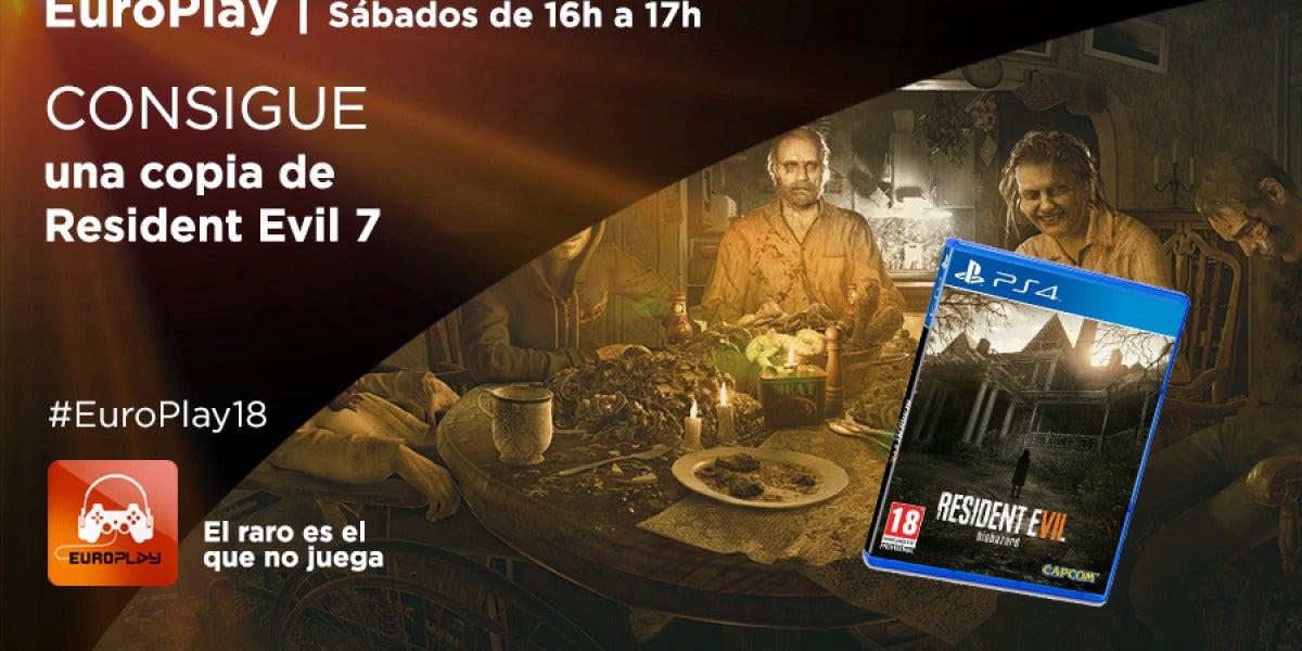 Concurso Europlay   Consigue una copia de Resident Evil 7