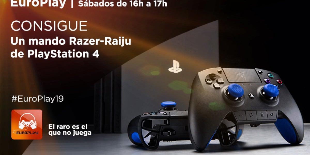 Concurso Europlay19 | ¡Consigue un mando Razer-Raiju de PlayStation 4!