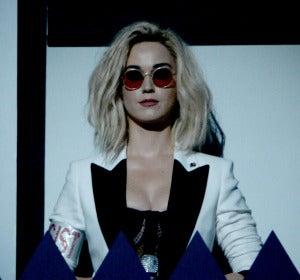 Katy Perry durante su actuación en los Grammy 2017