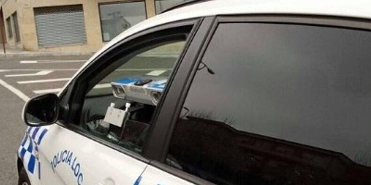 Coche de la Policía Local de Ourense